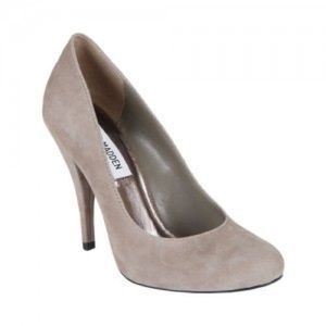 Steve Madden Taupe Suede Pumps♡